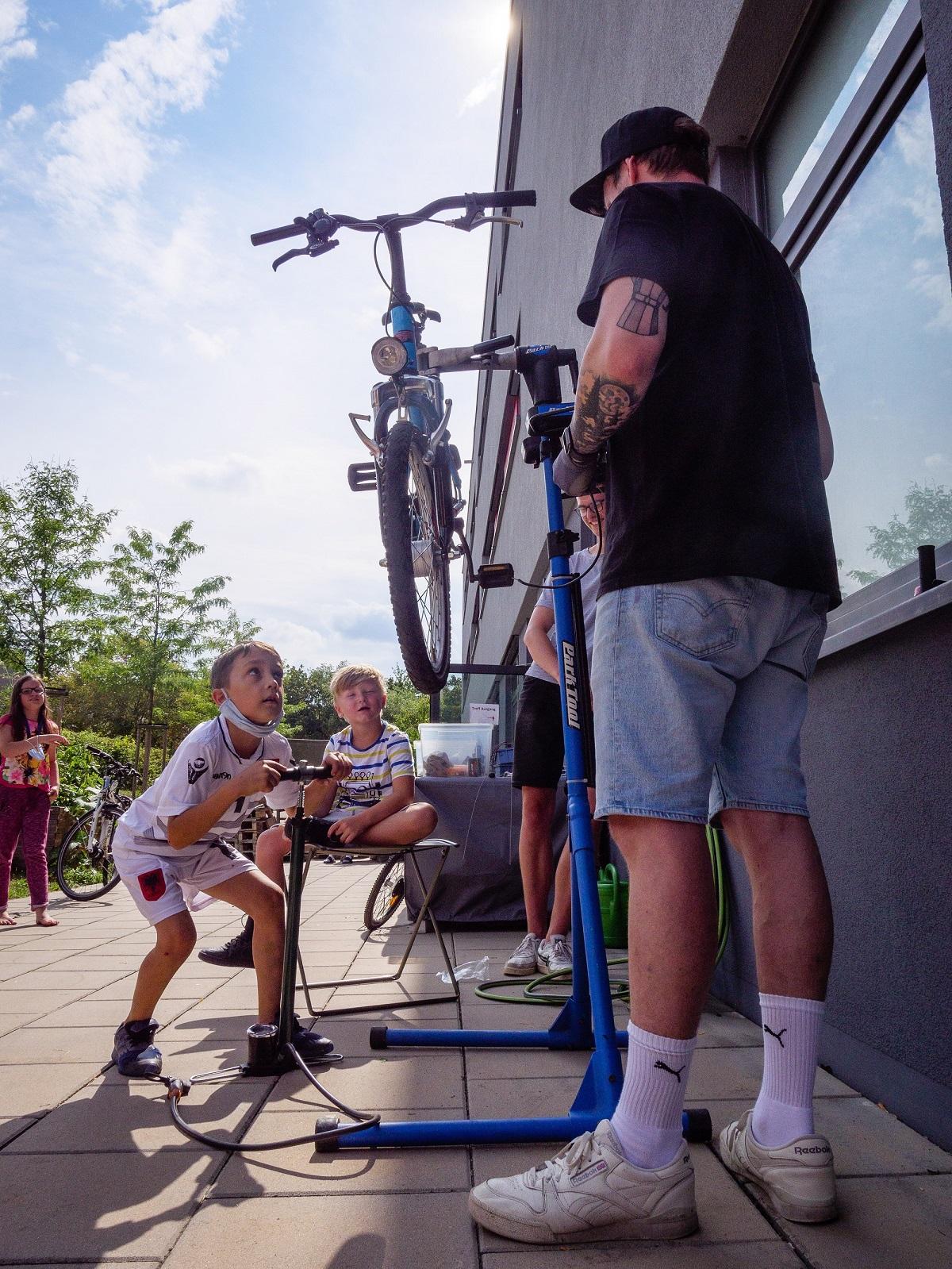 Fahrradwerkstatt BasKIDhall Gereuth 2020