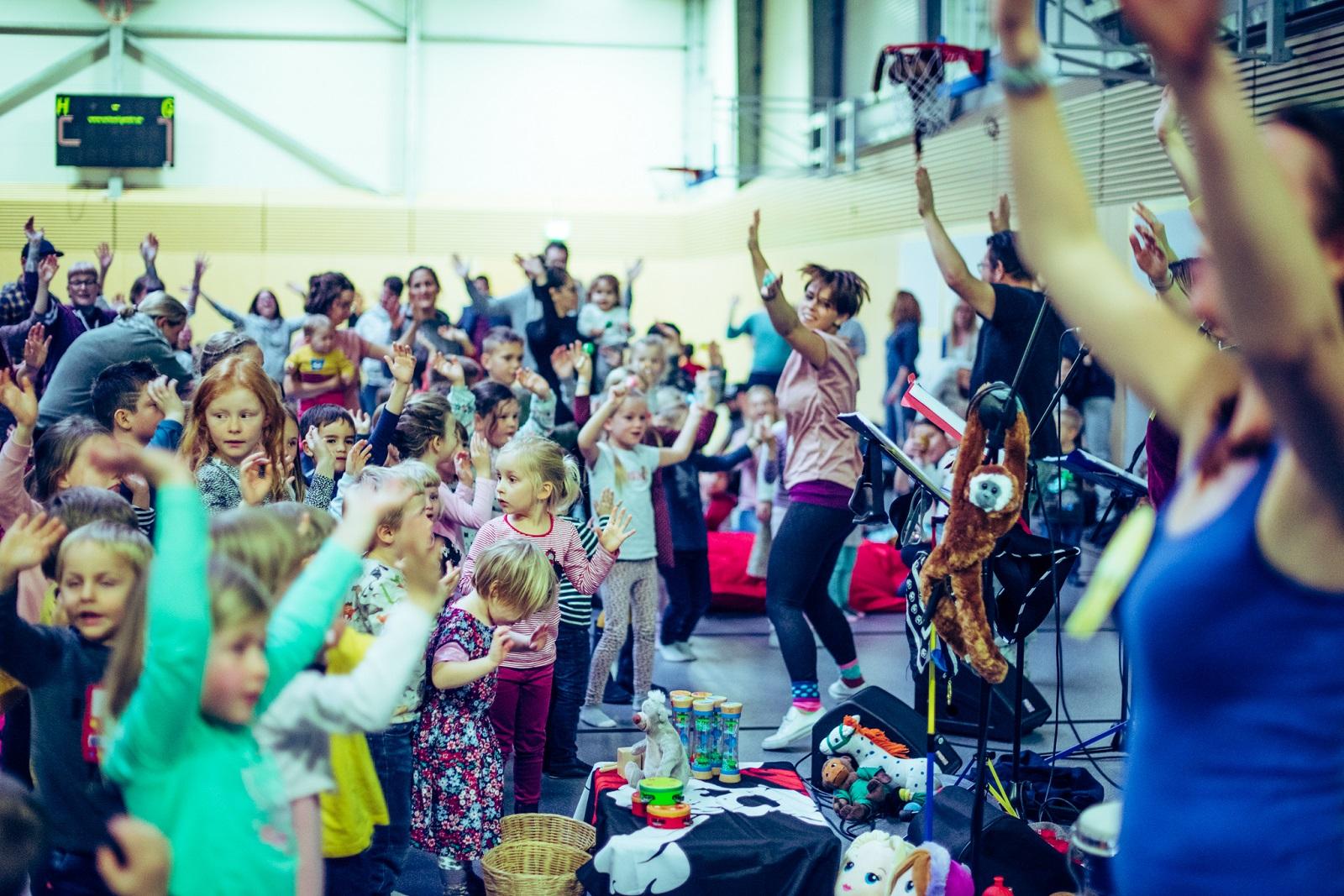 Kindermitmachkonzert BasKIDhall 2019